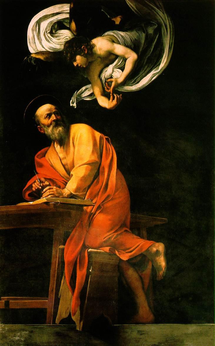Caravaggio Call Of Matthew. +AMDG+