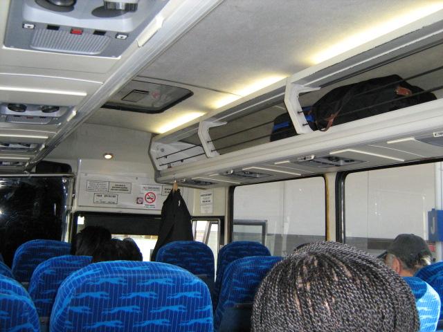 Greyhound Bus Inside